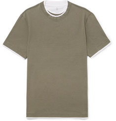 Brunello Cucinelli Slim-Fit Cotton-Jersey T-Shirt