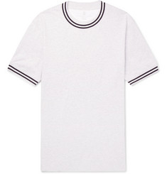 Brunello Cucinelli Slim-Fit Stripe-Trimmed Cotton-Jersey T-Shirt