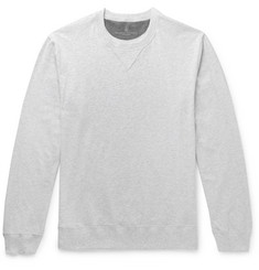 Brunello Cucinelli Fleece-Back Cotton-Jersey Sweatshirt
