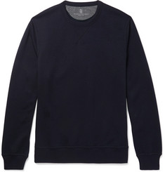 Brunello Cucinelli Cotton-Blend Jersey Sweatshirt