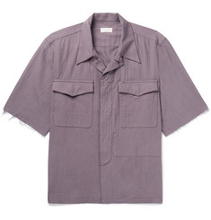 Dries Van Noten - Camp-Collar Cotton-Twill Shirt