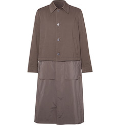 Dries Van Noten - Reversible Cotton-Twill and Matte-Shell Trench Coat