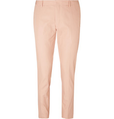 Dries Van Noten Patrini Slim-Fit Cropped Cotton-Twill Trousers