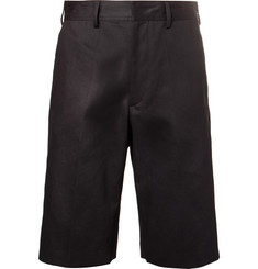 Dries Van Noten Slim-Fit Cotton and Linen-Blend Shorts