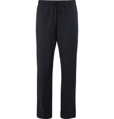Dries Van Noten Cotton Drawstring Trousers