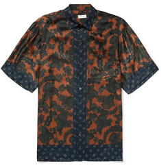 Dries Van Noten - Cohen Oversized Printed Satin Shirt