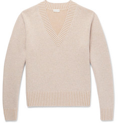 Dries Van Noten Mélange Wool and Cotton-Blend Sweater