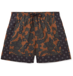 Dries Van Noten - Short-Length Floral-Print Swim Shorts