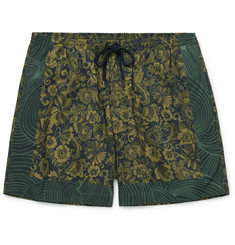 Dries Van Noten Short-Length Floral-Print Swim Shorts