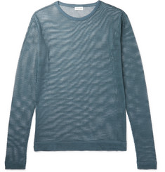 Dries Van Noten Humbler Cotton-Mesh T-Shirt