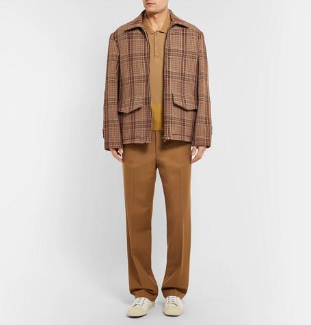 Wool Twill Trousers by Dries Van Noten