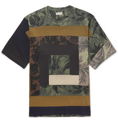 Dries Van Noten Patchwork Printed Cotton-Jersey T-Shirt
