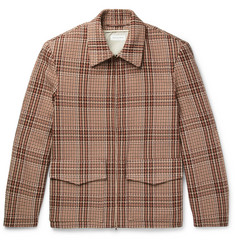 Dries Van Noten Checked Cotton-Blend Tweed Jacket