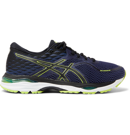 Asics Gel-cumulus 19 Mesh Running Sneakers In Blue
