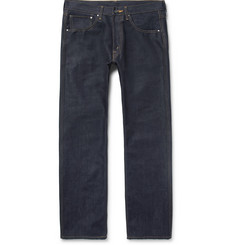 Junya Watanabe - + The North Face Printed Raw Denim Jeans