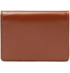 Dries Van Noten Leather Bifold Cardholder