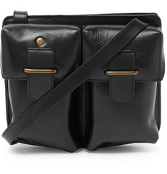 Dries Van Noten - Leather Messenger Bag