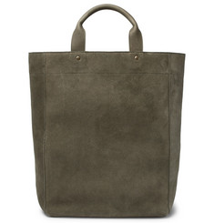 Dries Van Noten Suede Tote Bag