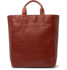 Dries Van Noten Leather Tote Bag