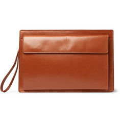 Dries Van Noten Leather Pouch