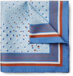 Dries Van Noten - Printed Silk Pocket Square