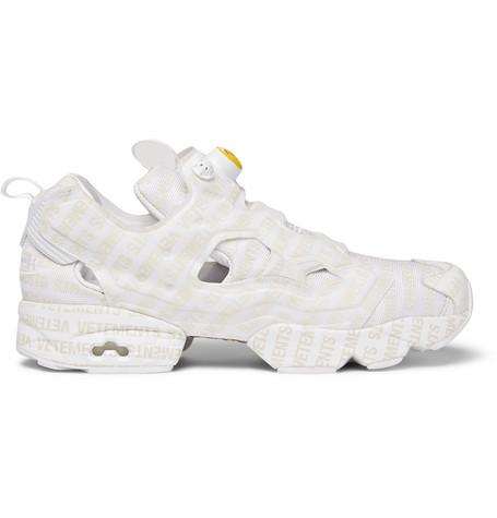 47709e1cad4 Vetements + Reebok Logo Instapump Fury Sneakers