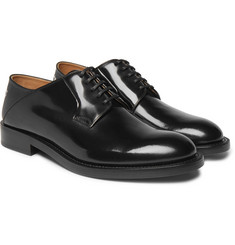 Vetements - + Church's Collapsible-Heel Polished-Leather Derby Shoes