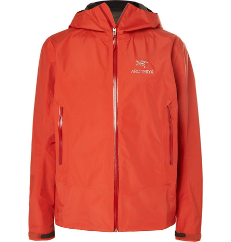 Arc'teryx Beta Sl Gore-tex Hooded Jacket In Orange