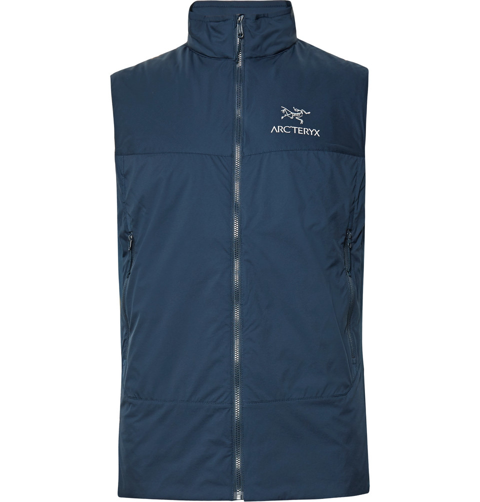 Atom Sl Quilted Shell Gilet - Storm blue