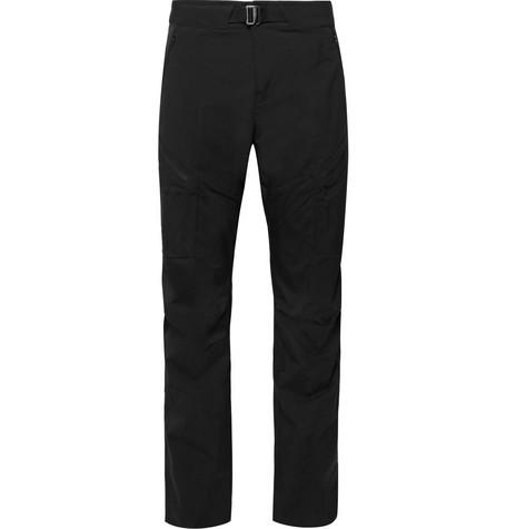 Arc'Teryx Gamma Lt Fortius Stretch-Shell Trousers In Black