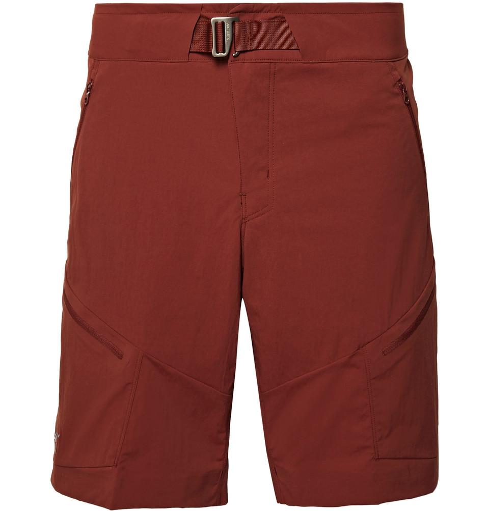 Palisade Slim-fit Terratex Shorts - Red