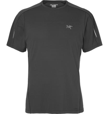Arc'Teryx Motus Phasic Sl T-Shirt In Dark Gray