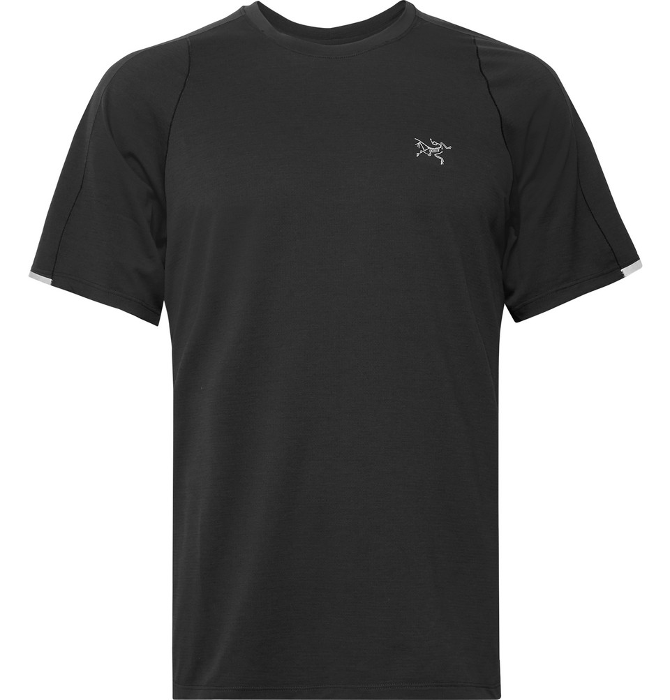 Cormac Ostria T-shirt - Black