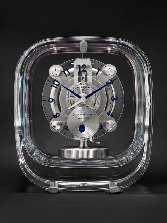 JAEGER-LECOULTRE + Marc Newson Atmos 568 Baccarat Crystal Clock, Ref. No. Q5165107