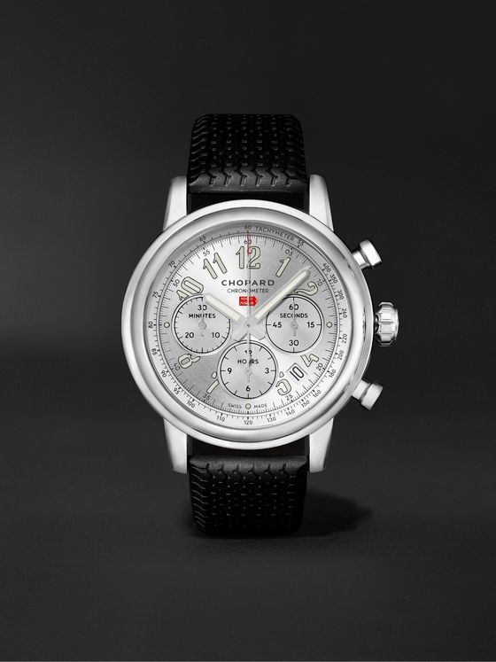 CHOPARD Mille Miglia Classic Chronograph Automatic 42mm Stainless Steel Watch, Ref. No. 168589-3001