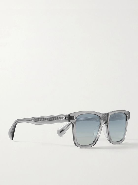 OLIVER PEOPLES Casian Square-Frame Acetate Sunglasses