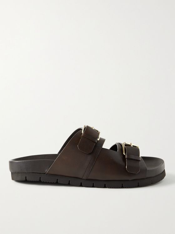 GRENSON Florin Leather Slides