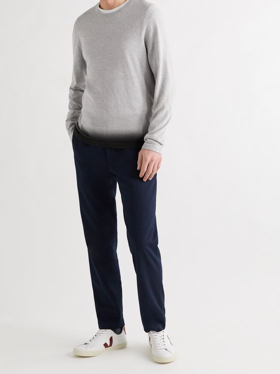 JAMES PERSE Slim-Fit Ombré Cashmere Sweater