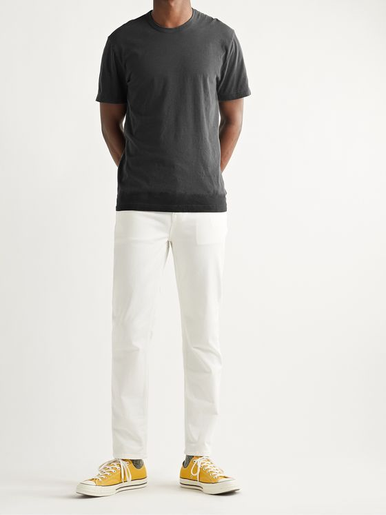 JAMES PERSE Dip-Dyed Combed-Cotton Jersey T-Shirt