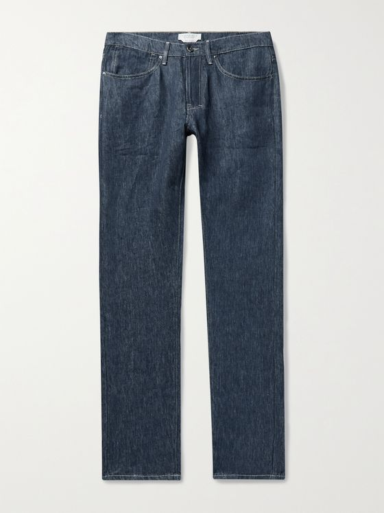 GABRIELA HEARST Anthony Linen-Twill Jeans