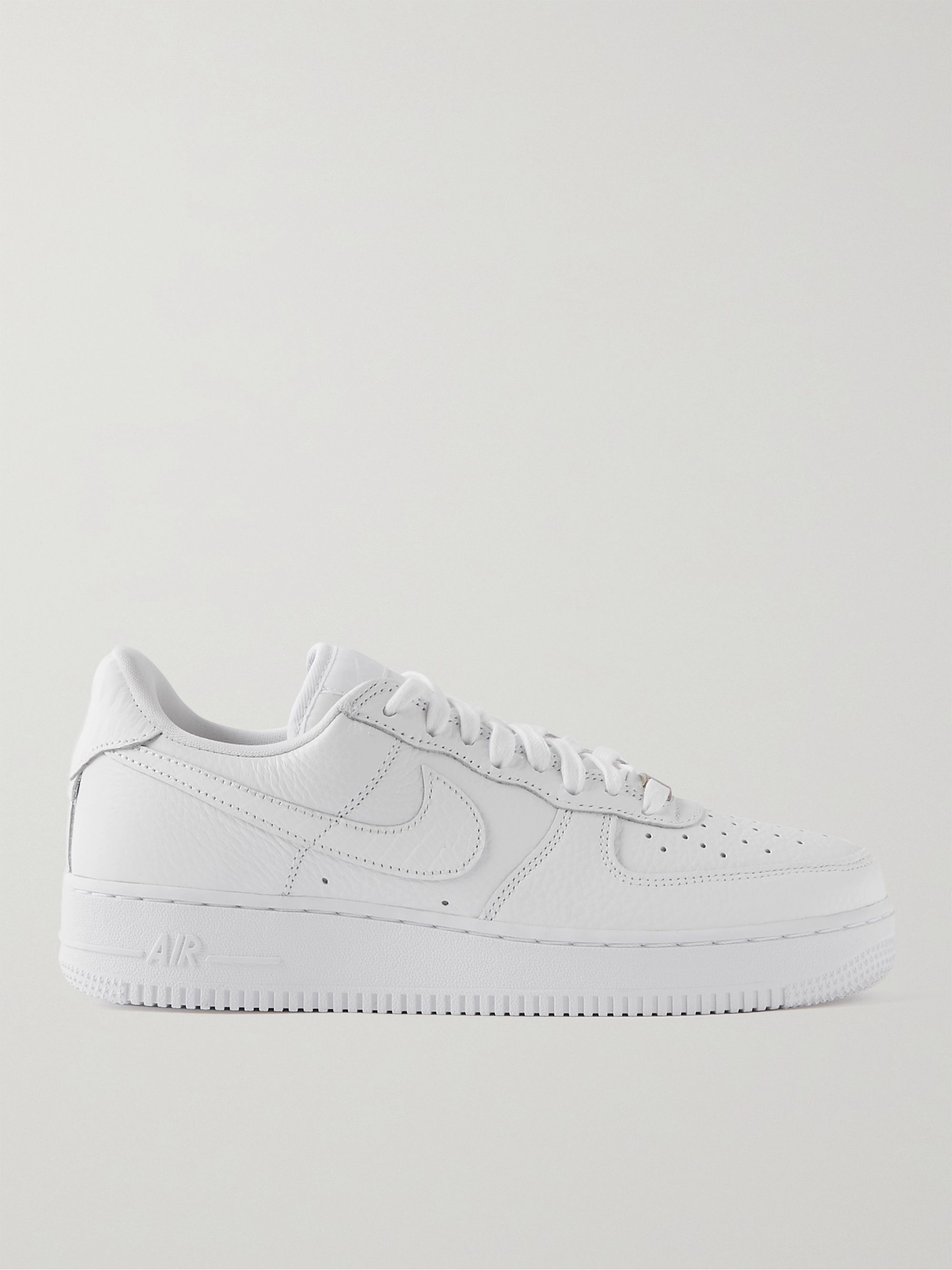 Air Force 1 07 Craft Full-Grain Leather Sneakers