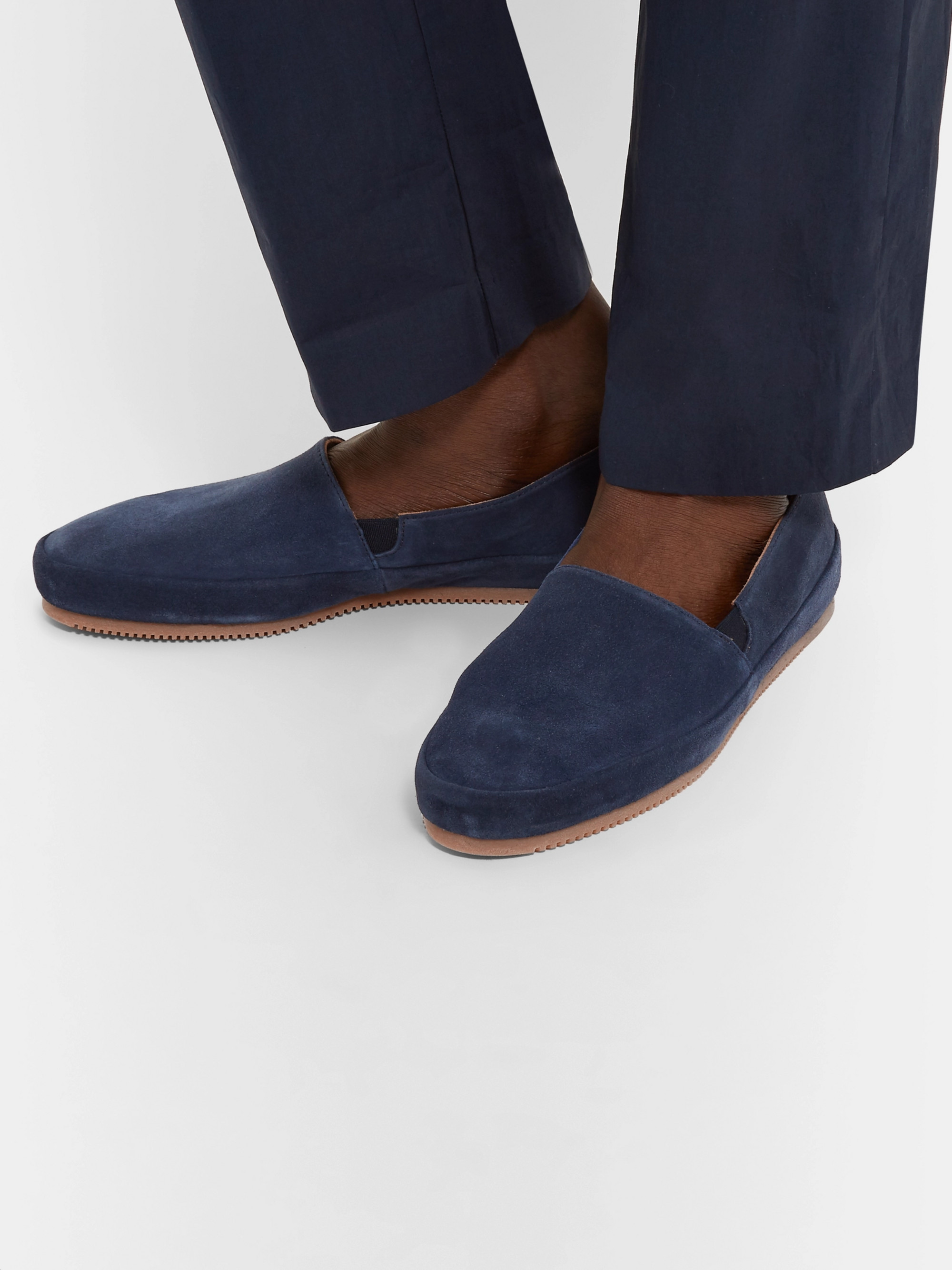 Mulo Suede Driving Shoes