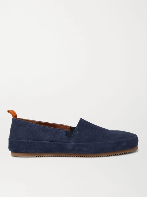 Mulo Suede Loafers