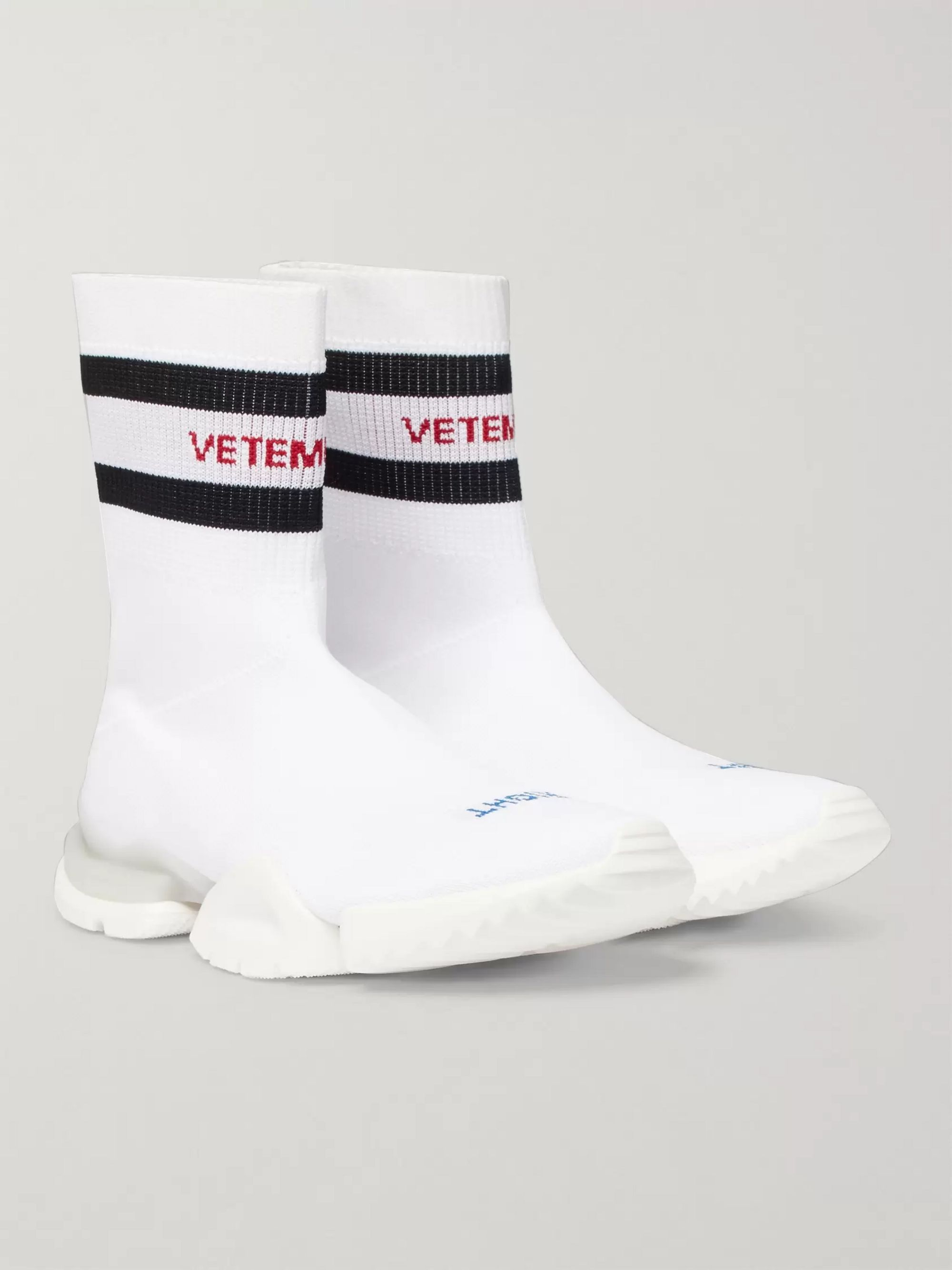 vetements reebok shoes sock