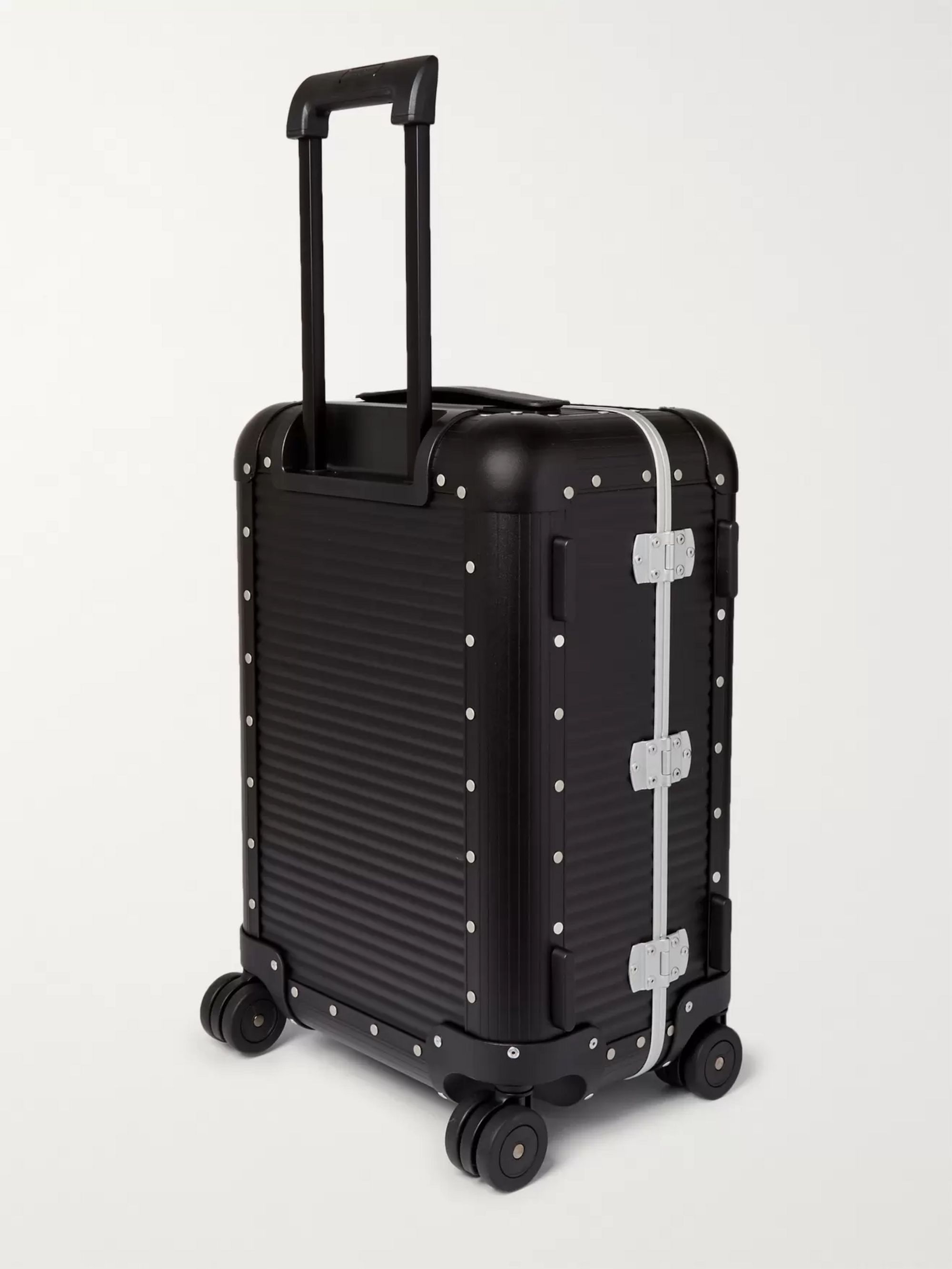 Fabbrica Pelletterie Milano Spinner 53cm Aluminium Carry-On Suitcase