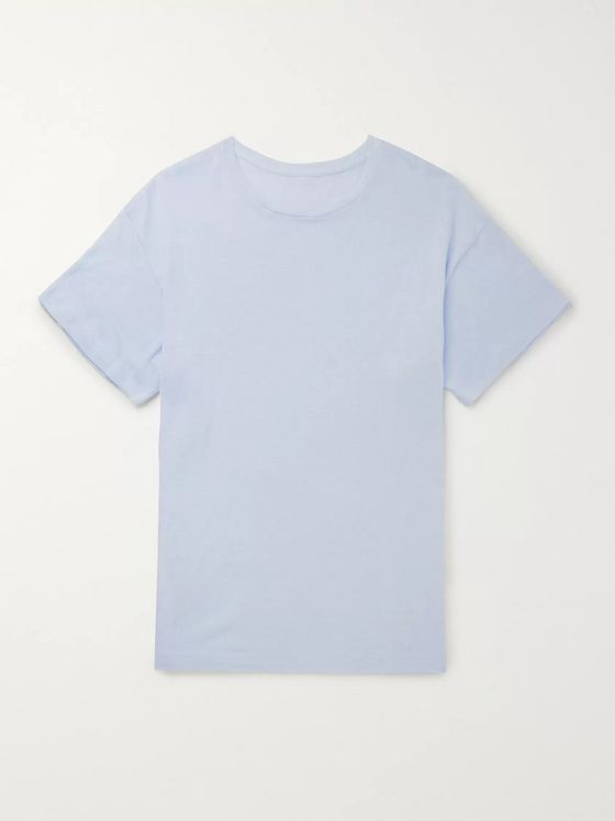 The Elder Statesman Cotton and Cashmere-Blend T-Shirt