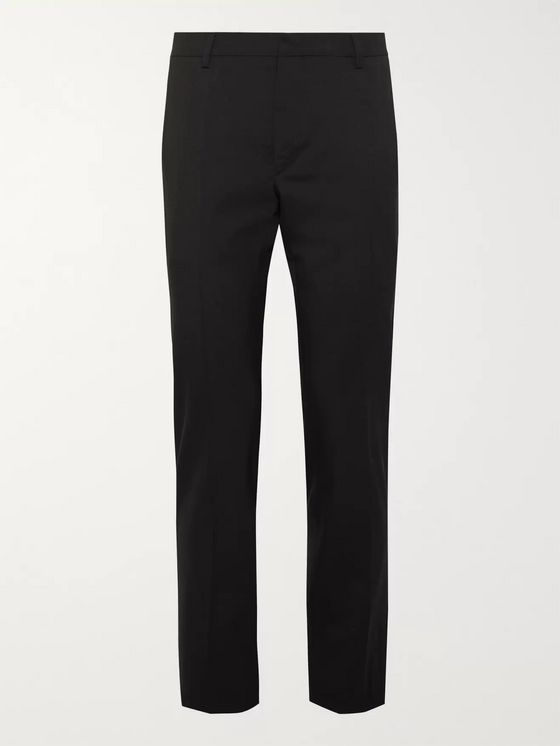 Prada Tela Slim-Fit Virgin Wool-Blend Suit Trousers
