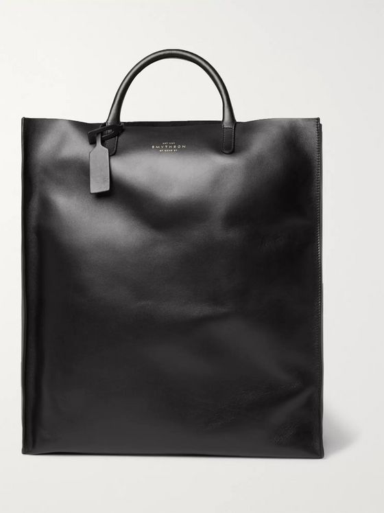 Smythson Bond Leather Tote Bag