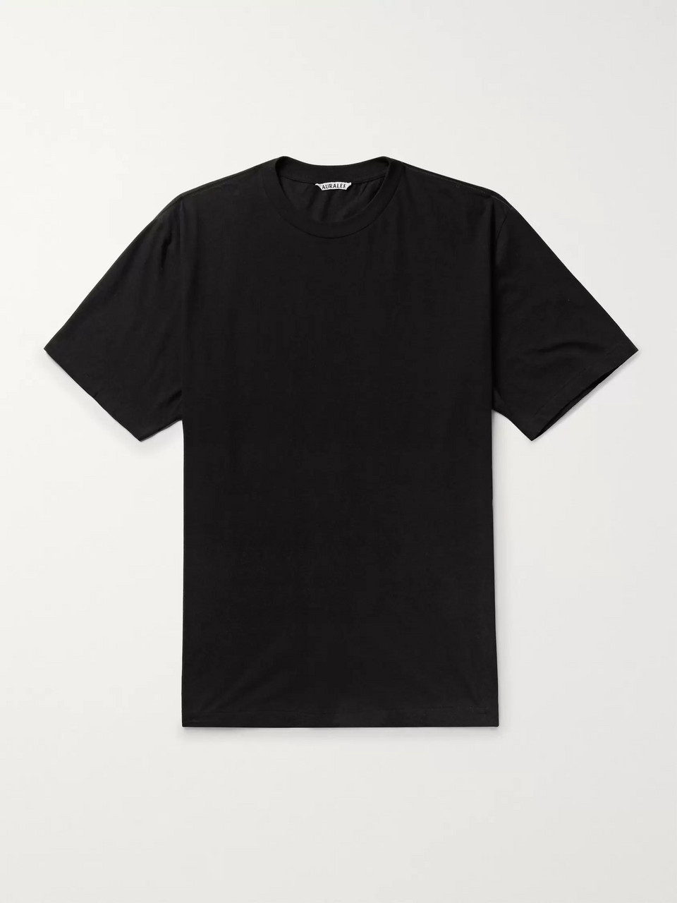 Auralee Cotton and Cashmere-Blend Jersey T-Shirt