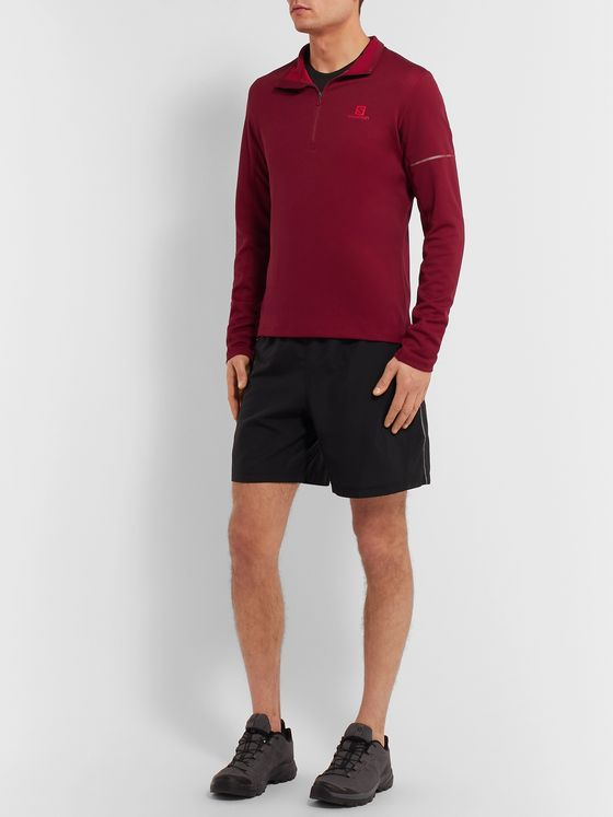 Salomon Agile Jersey Half-Zip Mid-Layer